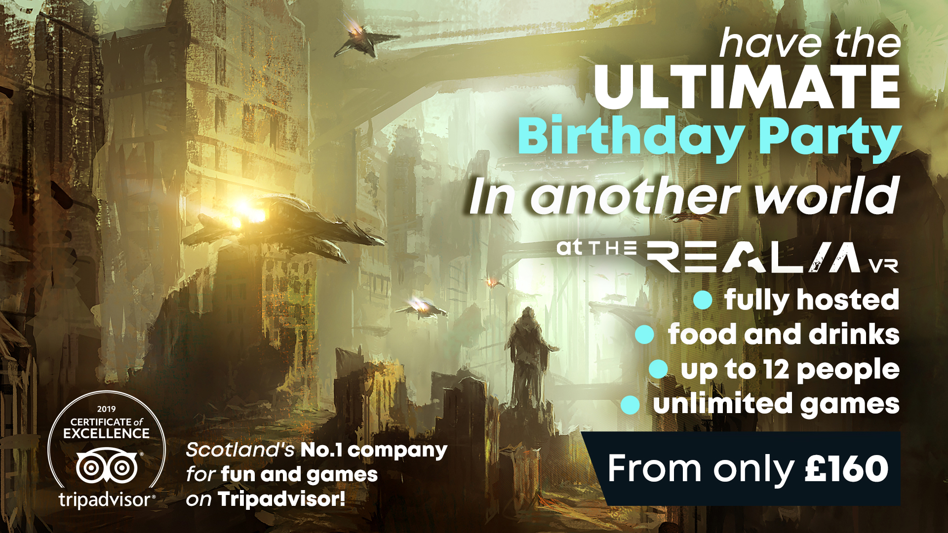Book your ultimate VR birthday party!
